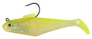 Berkley - Power Bait Swim Shad Series - 2014 SHCH - Shiner Chartreuse