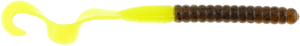 Berkley - Power Bait Power Worms GPC - Green Pumpkin/Chartreuse