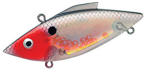 Bill Lewis Rat-L-Trap - Super Nova Series 567 - Bleeding Nova Transparent