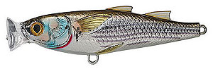 Koppers  Saltwater Series Mullet Popper 934 - Silver/Brown