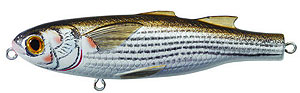 Koppers  Saltwater Series Mullet Walking Bait 901 - Natural/Matte