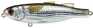 Koppers  Saltwater Series Mullet Walking Bait 934 - Silver/Brown