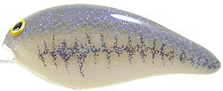 Norman Lures DD22 133GLL - Lavender Shad- Gray Lateral