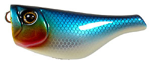 AR Lures Popper-55 01 - Blue Back