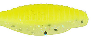 Bass Assassin Pro Tiny Shad 523 - Limetreuse Glow