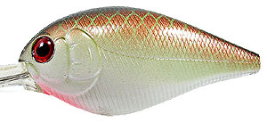 Luck 'E' Strike The Mini Freak/Freak Crankbait 10 - Green Copper Shad