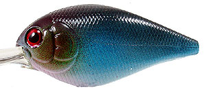 Luck 'E' Strike The Mini Freak/Freak Crankbait 25 - Blue Craw