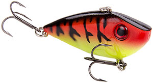 Strike King Red Eyed Shad Crankbaits 430 - Red Craw Chartreuse