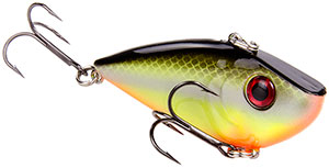 Strike King Silent Series Red Eye Shad 432 Chartreuse Baitfish