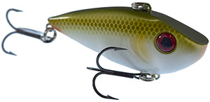 Strike King Red Eyed Shad Crankbaits 446 - Green Shad