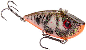 Strike King Silent Series Red Eye Shad 454 Albino Craw