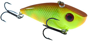 Strike King Red Eyed Shad Crankbaits MM1 - MM Pineapple Smash