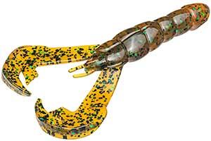 Strike King Rage Craw Series 102 Amber Green Black