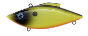 Bill Lewis Original Rat-L-Trap 1/2 oz 09 Chartreuse Black Back