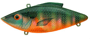 Bill Lewis Original Rat-L-Trap 1/2 oz 256 - Strawberry Sunfish