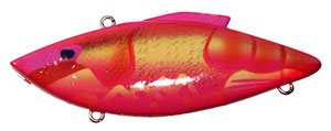 Bill Lewis Original Rat-L-Trap 1/2 oz 262 - Cotton Candy Craw