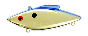 Bill Lewis Original Rat-L-Trap 1/2 oz 26B Gold Blue