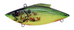 Bill Lewis Original Rat-L-Trap 1/2 oz 373 Bleeding Shad Chartreuse