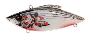 Bill Lewis Original Rat-L-Trap 1/2 oz 376 Bleeding Shad White