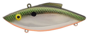 Bill Lewis Original Rat-L-Trap 1/2 oz 39C Tennessee Shad on Chrome
