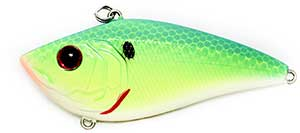 6th Sense Lures Snatch 70X Lipless Crankbait Blue-Treuse Shad