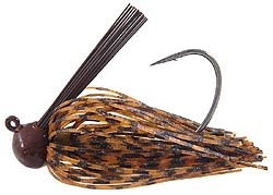Chompers Skirted Football Jigs 200 Peanut Butter & Jelly