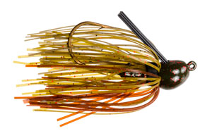 Strike King Bitsy Bug Jig 46 - Green Pumpkin