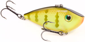 Strike King Red Eye Shad Crankbaits 650 - Chartreuse Perch