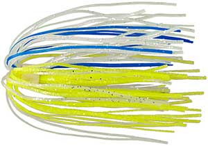 Strike King Replacement Skirts 71 Chartreuse Blue Clear
