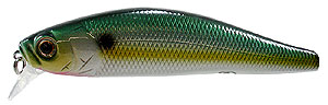 Deps Spiral Minnow 76 - Chartreuse Sexy Shad