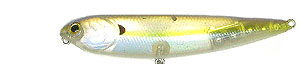 Lucky Craft Sammy  Series 170 - Ghost Chartreuse Shad