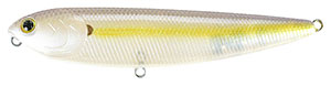 Lucky Craft Sammy  Series 250 - Chartreuse Shad
