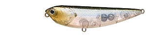 Lucky Craft Sammy  Series 238 - Ghost Minnow