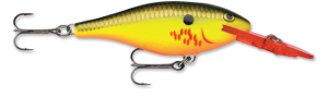 Rapala Shad Rap BHO - Bleeding Hot Olive