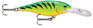 Rapala Shad Rap FT - Fire Tiger