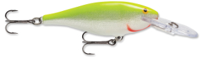 Rapala Shad Rap SFC - Silver Fluorescent Chartreuse
