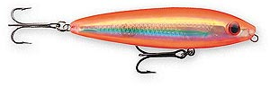 Rapala Skitter Walk HOG Holographic Orange Gold