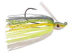 Strike King Tour Grade Swimming Jig 538 Chartreuse Sexy Shad