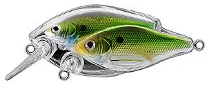 Koppers  Live Target Threadfin Shad Baitball Squarebill 807 - Metallic/Green