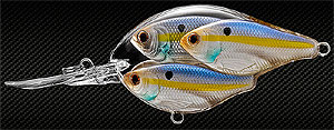 Koppers  Live Target Threadfin Shad Baitball Crankbait 812 - Pearl/Violet Shad