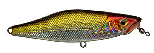 Unfair Lures Dawgslider 68 Series 08 - Pearl Olive Red Head