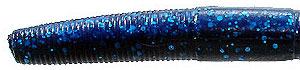 Tightlines UV UVenko Worms UV Blue/Black