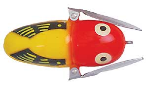 Heddon Crazy Crawler YRH Yellow Hornet