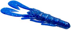 Zoom Bait Company Ultra Vibe Speed Craw 110 - Sapphire Blue