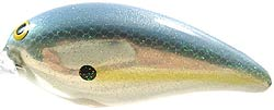 Norman Lures Deep Little N 269CH - Sexy Shad Chrome