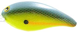 Norman Lures Deep Little N 269CSX - Sexy Shad Chartreuse