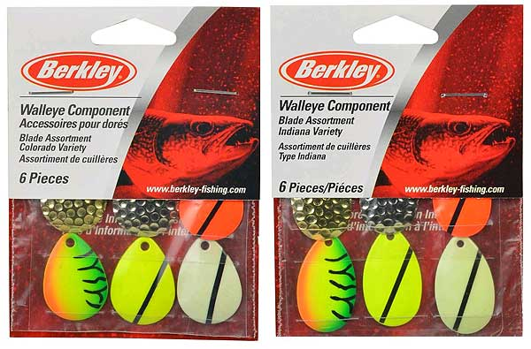 Berkley Walleye Component - Blades Assortment