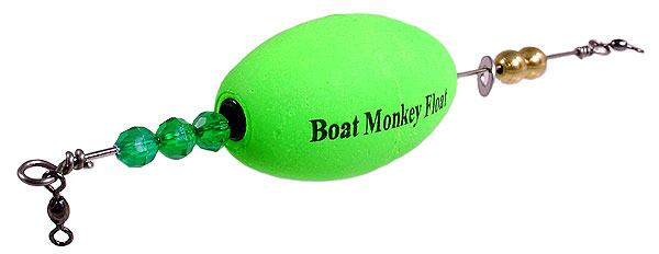 Boat Monkey Float The Oval