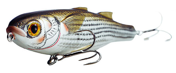 Koppers  Saltwater Series Mullet Walking Bait