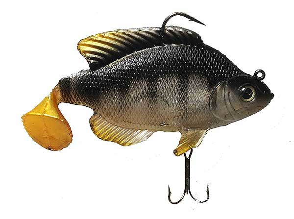 Real fish bait company tilapia swimbait for Is tilapia a real fish